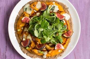 Pizza d'automne sans gluten