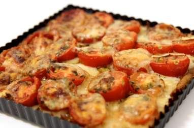 Tarte lentille tomate et brebis