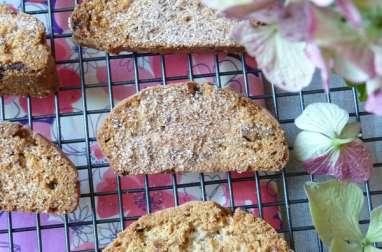 Mandelbrot aux noix de pécan et chocolat