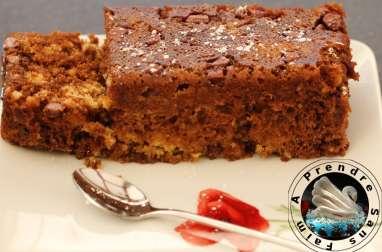 Cake Stracciatella cuisson micro-onde