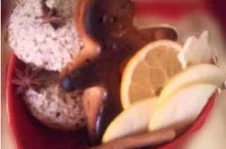 Bento de la Saint-Nicolas, mannele, petit bonhomme brioché, bredele pain d'épices, fruits