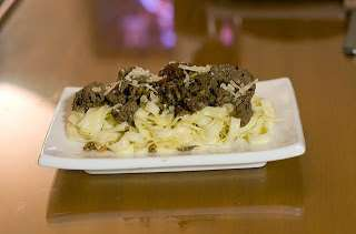 Foies de chevreuil en papillote - cuisine messine, Lorraine