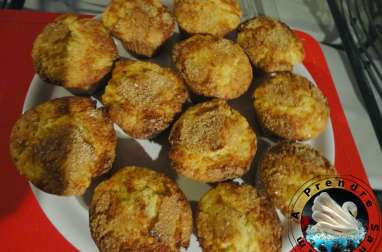 Muffins poire gingembre