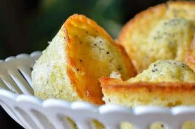 Muffins au citron et graines de pavot de Thomas Keller