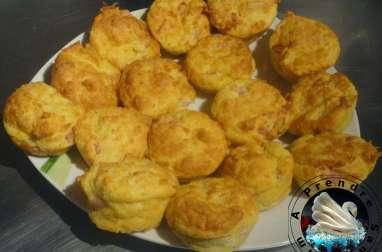 Muffins au jambon