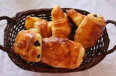 Croissants et pains au chocolat maison d'après Christophe Felder
