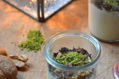 Crème de Yaourt au Chocolat blanc et aux Quatre Mendiants pour Noël