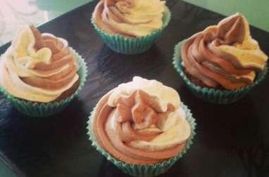 Cupcake vanille chocolat