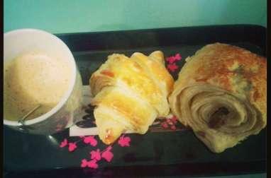Croissant et pain au chocolat