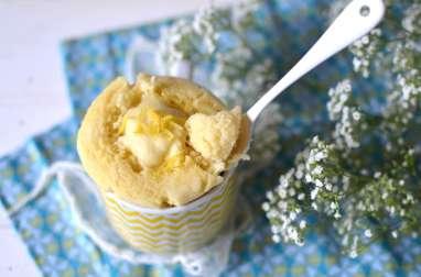 Mug cake végétal au citron {Sans micro-ondes & sans gluten}