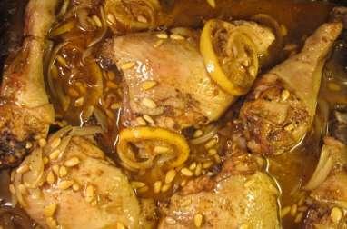 Poulet rôti au zaatar et citron
