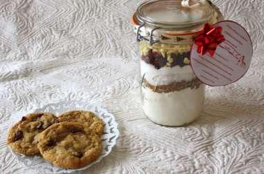 Kit cookies cranberries et pépites de chocolat blanc