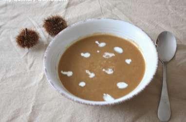 Soupe potiron châtaignes