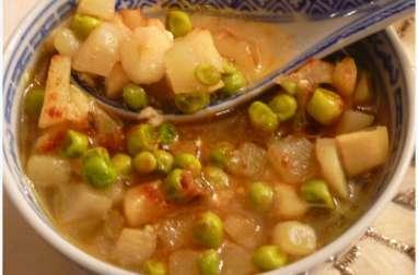 Soupe de légumes à l'indienne