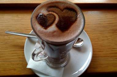 "Chocolat chaud ""palamoud"" à l'ancienne"