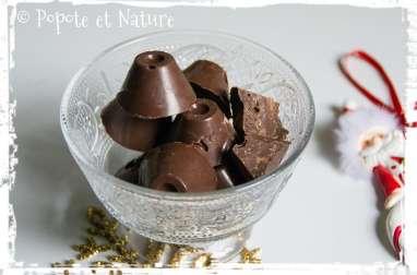 Chocolats au lait et crêpes Gavotte