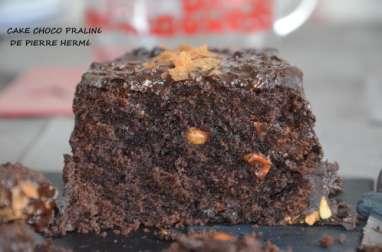 Cake intensement chocolat façon Pierre Hermé