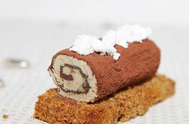 Bûchette de foie gras au chocolat
