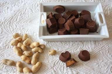 Chocolats au beurre de cacahuètes