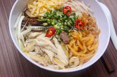 Bun Thang de Hanoi