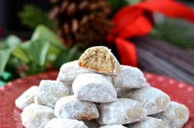 Vanillekipferl à la noix de pécan