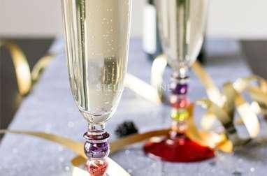 Cocktail Champagne aux fruits rouges et sirop d'orgeat