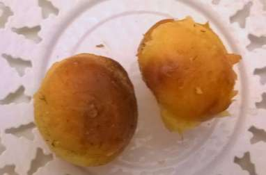 Petites brioches au foie gras et au saumon fumé