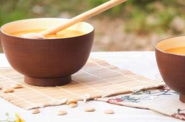 Velouté de potiron, patate douce et épices