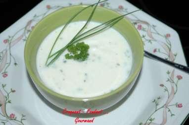 Soupe chou-fleur parmesan