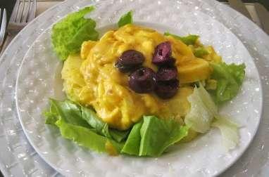 Salade de pommes de terre à la Huancayo (Pérou)