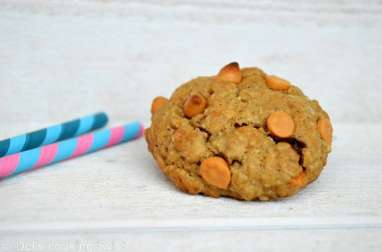 Cookies américains à l'avoine et au caramel
