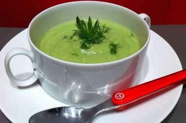 Crème de légumes acidulée