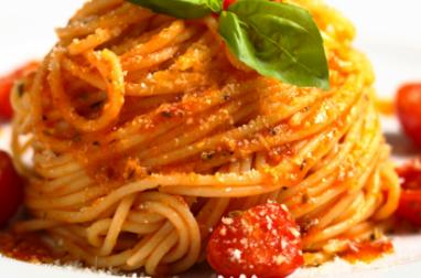 Spaghetti au thon frais et aux tomates cerises