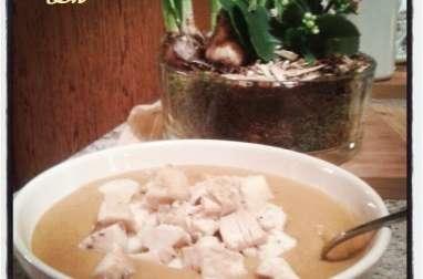 Velouté de lentilles corail et carottes au curry korma