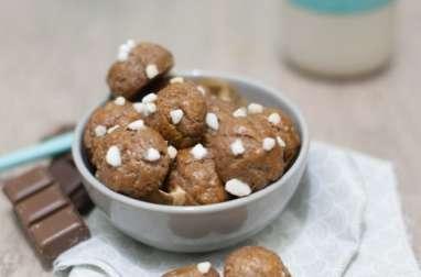 Chouquettes chocolat
