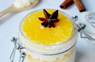 Riz au lait suédois aux oranges épicées
