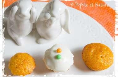 Mini carrot cakes aux écorces d'orange confites