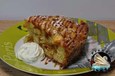 Moelleux pommes vanille aux contours croustillants