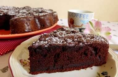 Moelleux au cacao et farine de châtaigne