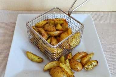 Mini potatoes de pommes de terre grenailles aux herbes de Provence