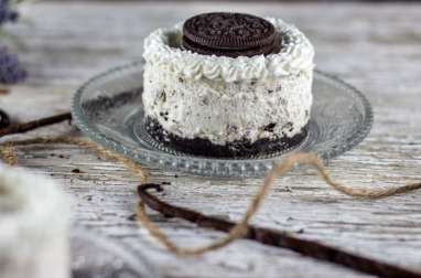 Mini cheesecake Oreo sans cuisson