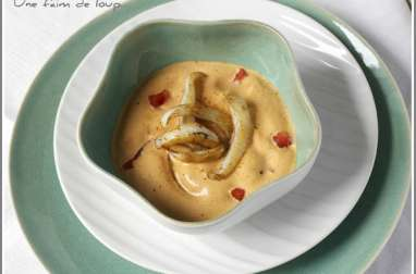 Seiches à la crème de chorizo