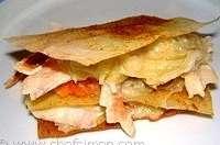 Croustillant de haddock et fondue de poireaux