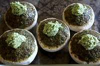 Les champignons farcis