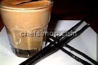 Sauce crème et espuma Carambar