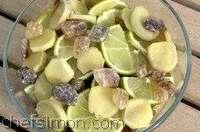 Sirop gingembre citron vert