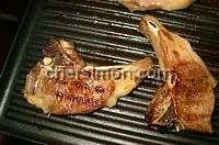 Côtes d'agneau grillées