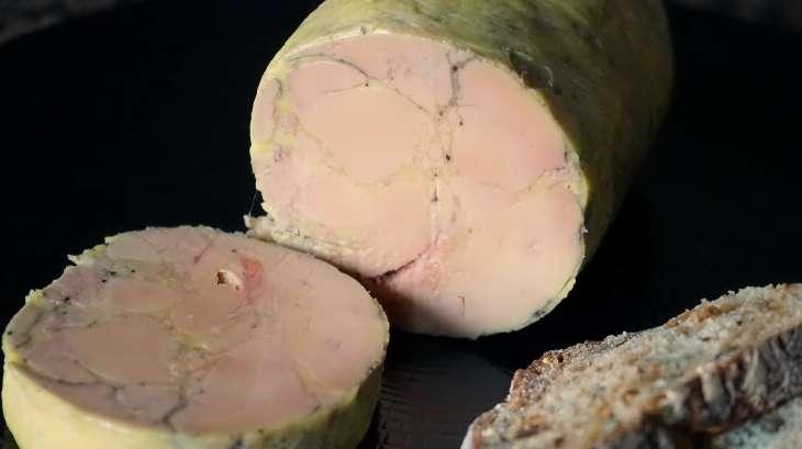 Ballotine de foie gras nature