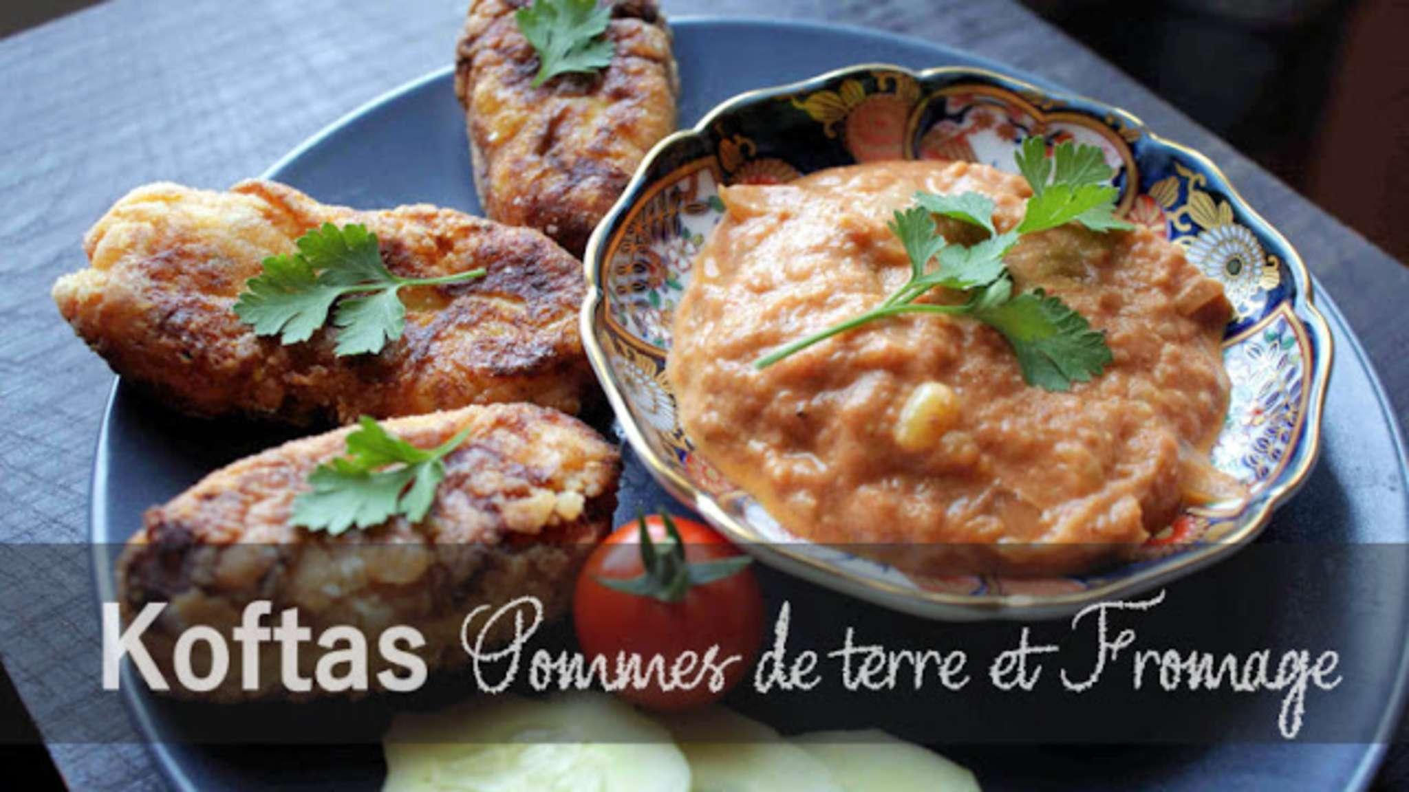 Koftas de Pommes de terre au fromage, sauce Makhani