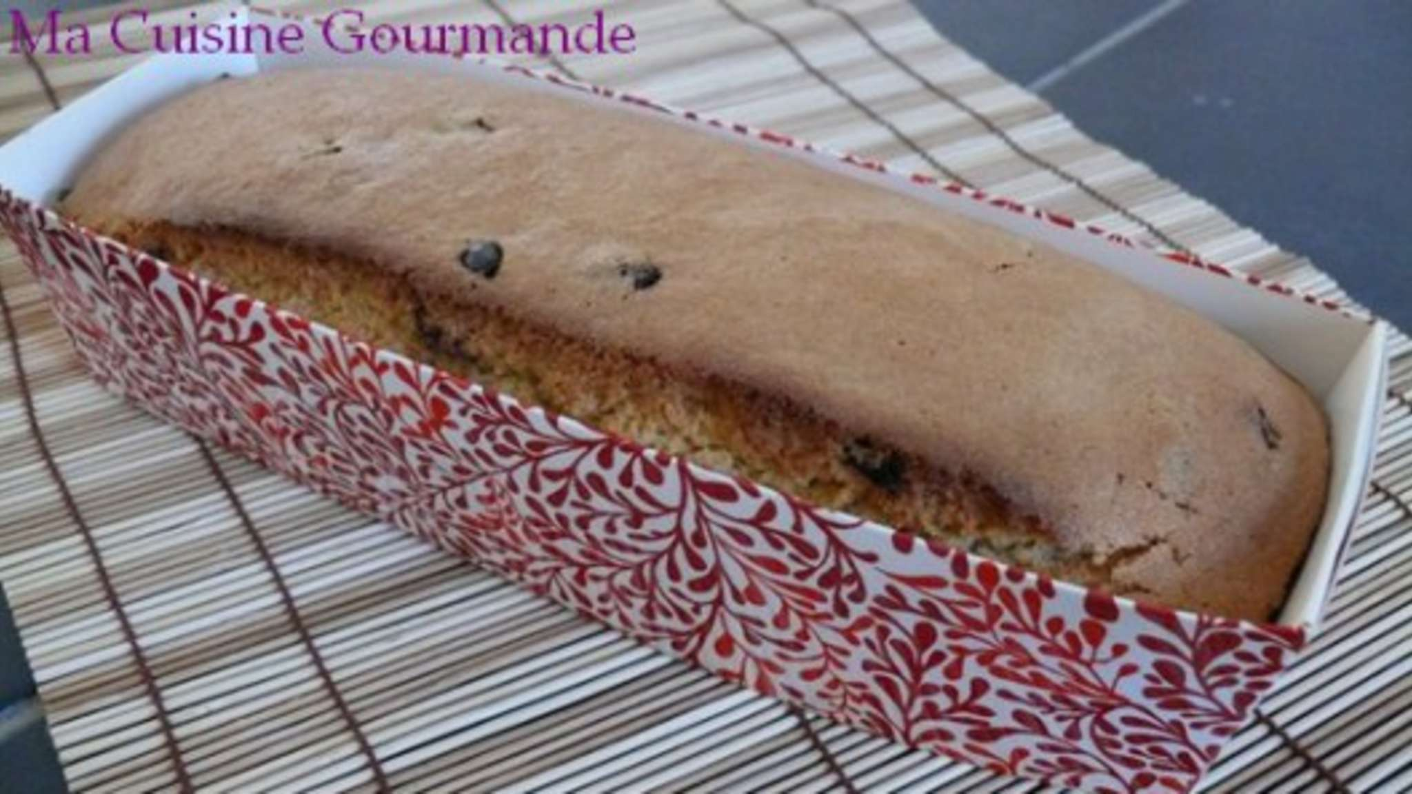 Cake Amandes Cranberries